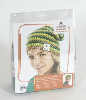 Kit Bonnet au Crochet » My Boshi» de D.M.C
