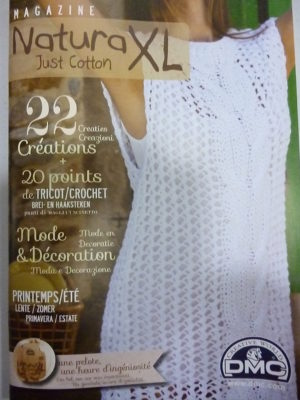 Catalogue « Just Cotton » Natura XL de D.M.C