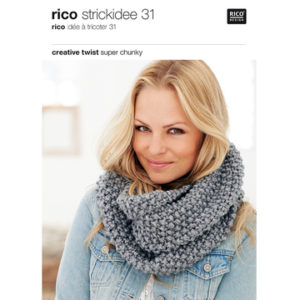 Catalogue Idée à tricoter 31 de RICO DESIGN