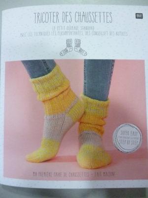 Tricoter des Chaussettes de RICO DESIGN