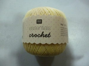 Coton Essentials Crochet N°20 de RICO DESIGN
