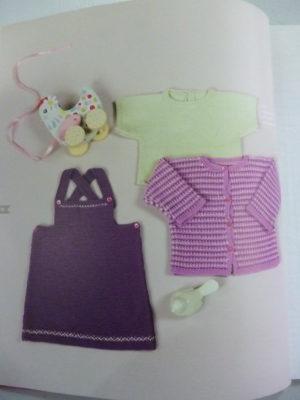 Crochet et Tricot En Coton Pour Bébé Édt Marie Claire