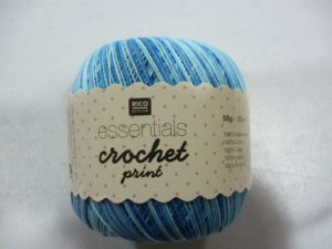 Coton Essentials Crochet Print N°04 de RICO DESIGN
