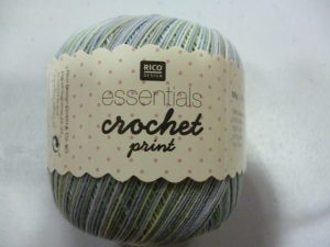 Coton Essentials Crochet Print N°05 de RICO DESIGN