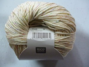 Essentials Cotton « Glitz » N°06 Coton de RICO DESIGN