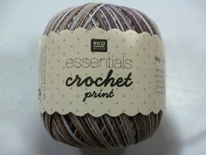 Coton Essentials Crochet Print N°06 de RICO DESIGN
