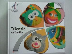 Livre «Tricotin en Famille» de Cendrine Armani
