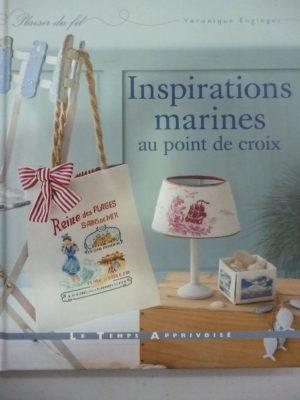 Livre «Inspirations Marines» Au Point de Croix Aux Éditions de Saxe