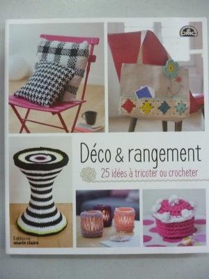 Livre «Déco & Rangement» 25 Idées au Tricot ou Crochet