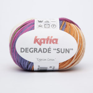 DEGRADE «Sun» N°92 100% Coton de KATIA
