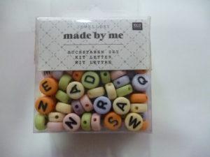 Kit Lettres Alphabet pastel