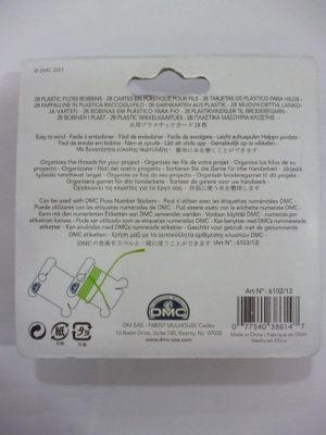 Cartes en Plastique pour Écheveaux de D.M.C