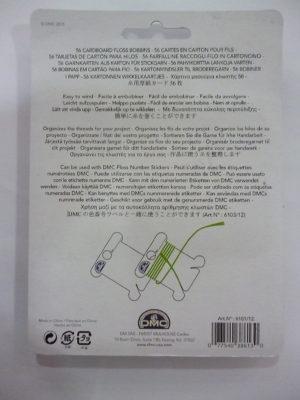 Cartes en Carton pour Écheveaux de D.M.C