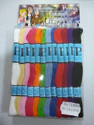 Kit de Fils pour Bracelets Brésiliens