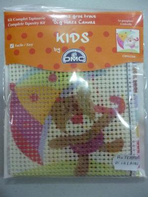 Kit Canevas Gros Trous pour enfants de DMC