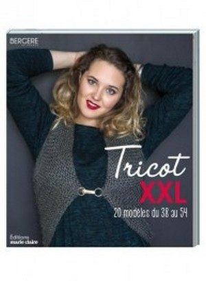 Tricot XXL Editions Marie Claire