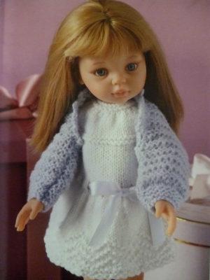 Vêtements de poupées au tricot Editions de Saxe