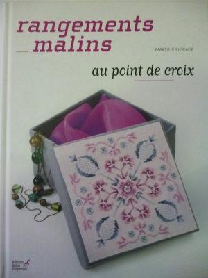 Livre «Rangements Malins» Au point de croix