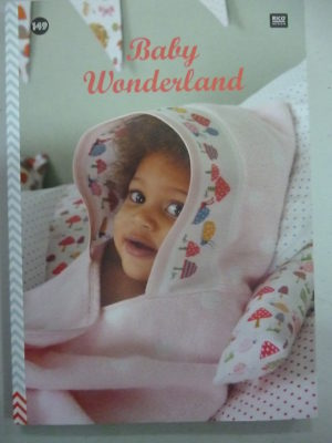 Broder pour Bébé N°149 «Baby Wonderland» de Rico Design