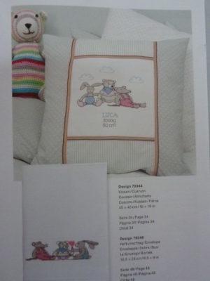 Broder pour Bébé N°139 «Petits Amis» de Rico Design