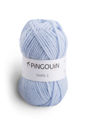 Yarn 3 coloris Blue frost