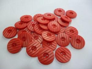Bouton «Rouge Dégradé» 17 Mm
