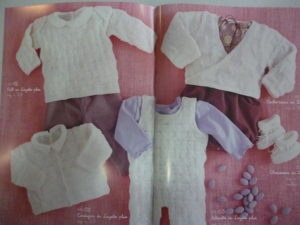 Catalogue Plassard N°64 Layette Intemporel 95 Modèles de 0 à 18 Mois