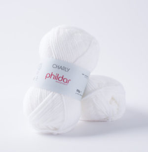 Charly de Phildar coloris Blanc