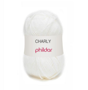 Charly de Phildar coloris Craie