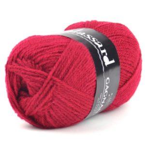 GAGNANTE N°917 de PLASSARD Sachet de 10 Pelotes Coloris Rouge Bordeaux