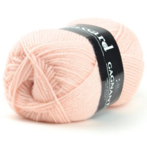 GAGNANTE N°936 de PLASSARD Sachet de 10 Pelotes Coloris Rose Saumon