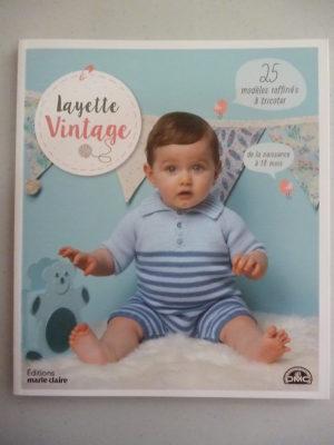 Catalogue Layette Vintage de 0 à 18 Mois de D.M.C