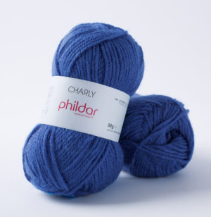 Charly de Phildar coloris Océan