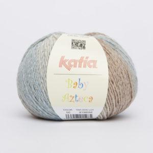 BABY AZTECA N°50 de KATIA pelote de 50 g coloris Multicolore