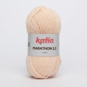 MARATHON 3.5 N° 18 de KATIA pelote 50 g coloris Chair