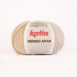Merino Aran N°11 de KATIA pelote de 100 g coloris Sable