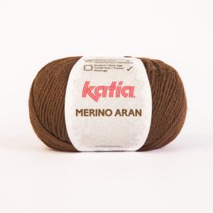 Merino Aran N°46 de KATIA pelote de 100 g coloris Marron