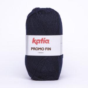 PROMO-FIN N°613 de KATIA pelote 50 g coloris Bleu Marine