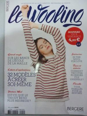 Nouveau Bergère de France N°1 Le Wooling