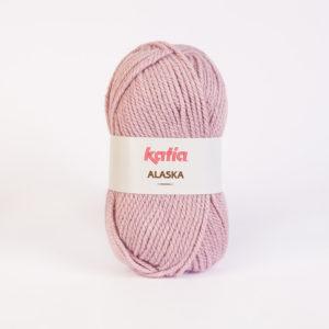ALASKA KATIA pelote 100 g coloris N°38 Vieux Rose