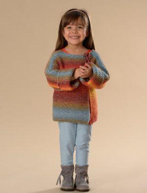 KIT Complet Gilet Enfant à être tricoté Taille 4 à 8 Ans
