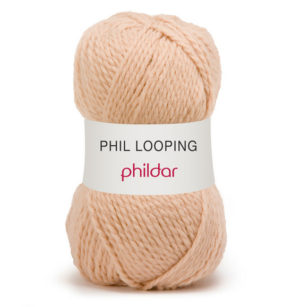 Looping de Phildar coloris Biche