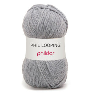 Looping de Phildar coloris Flanelle
