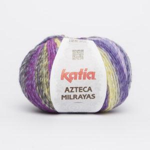 AZTECA Milrayas N°703 de KATIA pelote de 100 g coloris Multicolore