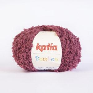 BOMBON N°212 de KATIA pelote de 50 g coloris Vieux Rose
