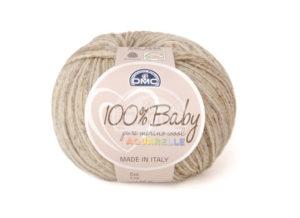 100% Baby Aquarelle N°1330 de D.M.C coloris Beige Chiné
