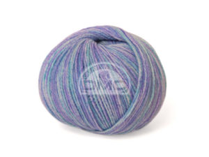 100% Baby Aquarelle N°1370 de D.M.C coloris Bleu Chiné