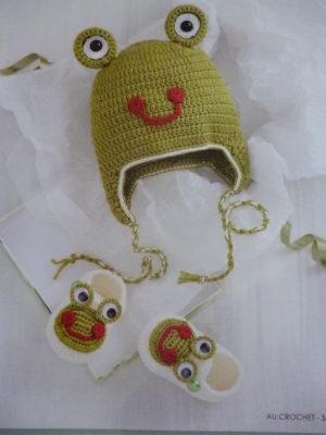 Chaussons & Bonnets au crochet Éditions de Saxe