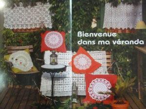 Maison de Charme en Crochet D'art
