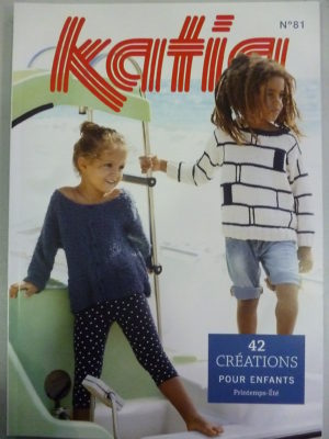 Catalogue Katia Enfants N°81 Printemps-Été 2017
